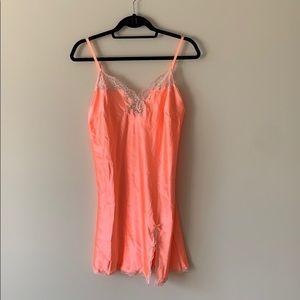 NWT Victoria's Secret Neon Orange Slip
